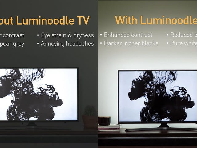 Luminoodle's Bias Light Strands Start At Just $7 Today, and Would Make Great Gifts