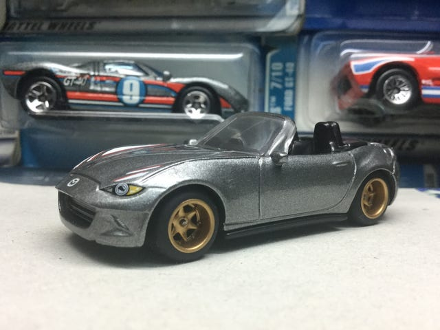 A wheelswapped Miata