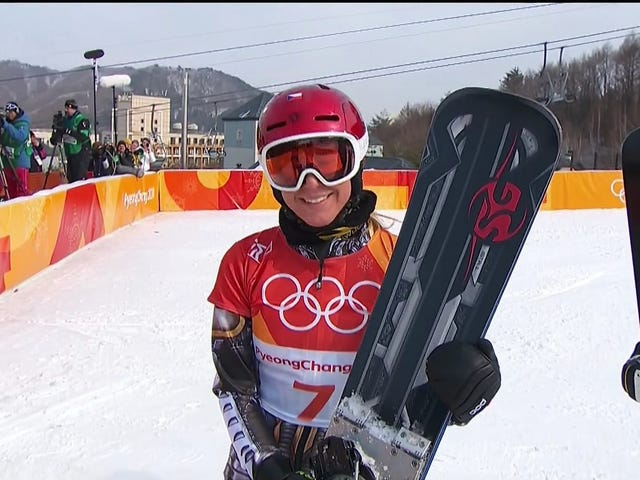 Ester Ledecká Wins Snowboard Parallel Giant Slalom, Is First Winter Olympian To Win Two Different Sports At Same Olympics
