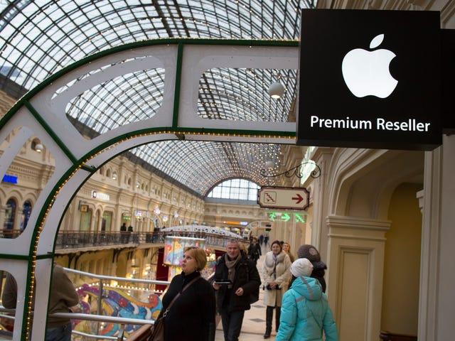 Kapersky Labs-filer Antitrustklager mod Apple i Rusland Over App Store Policies