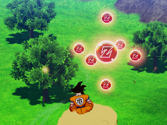 Dragon Ball Z: Kakarot Is Bad, But Collecting Orbs Is Good