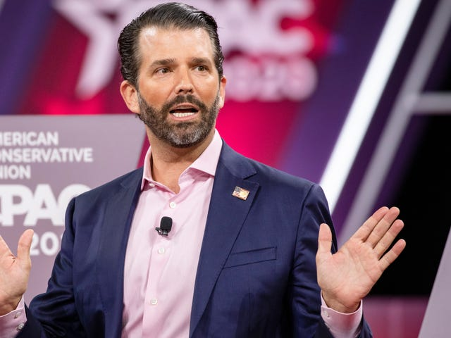 Donald Trump Jr. Hopes to Prove He's Daddy's Good Boy Once and for All With a Hunter Biden Debate