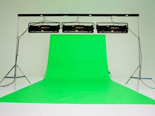 Thesis Project - Green Screen Options - Day 2