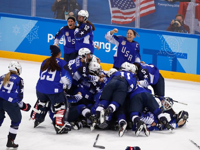 Team USA's Women's Hockey Gold Was The Most Electrifying Moment Of The Olympics