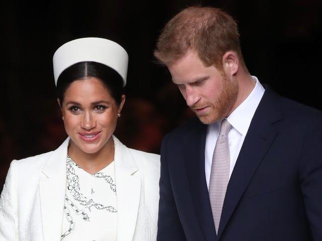 Prywatność, proszę: Meghan Markle i książę Harry wybierają nietradycyjne ogłoszenie urodzin, a Oprah broni księżnej