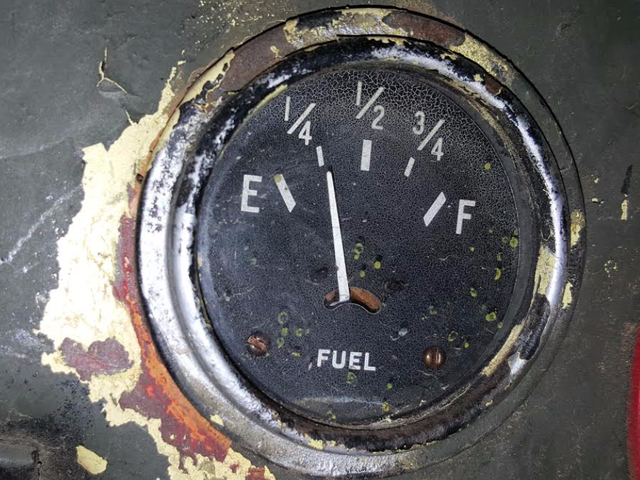Why You Shouldn't Run Your Car Low On Gas