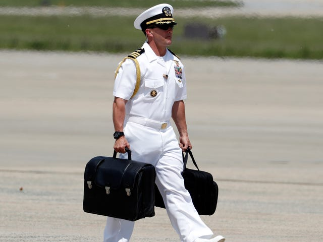 Chinese Security Allegedly Wrestled With Secret Service, John Kelly Over Trump's Nuclear Football