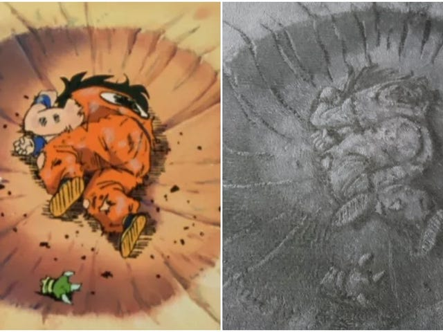 "Dragon Ball's ""Death Pose"" Fan Art With An Unusual Spin"