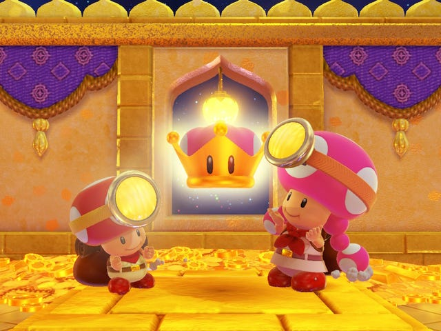 Captain Toad: Treasure Tracker's DLC Is A Delightful Mix Of Old And New