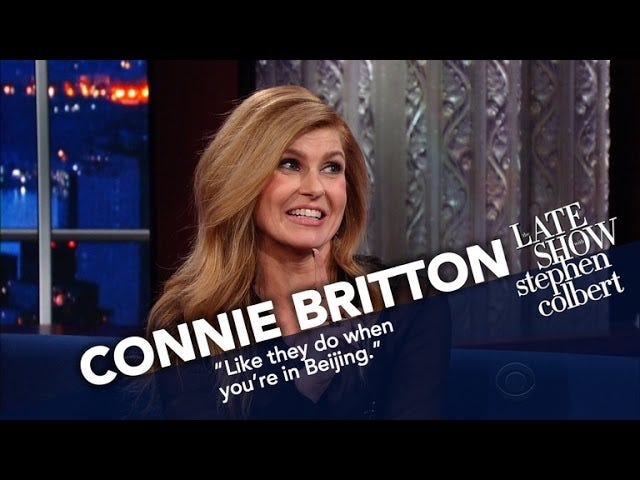 Connie Britton is Absoluut Absoluut Dood voor <i>Nashville</i> , Quit Asking