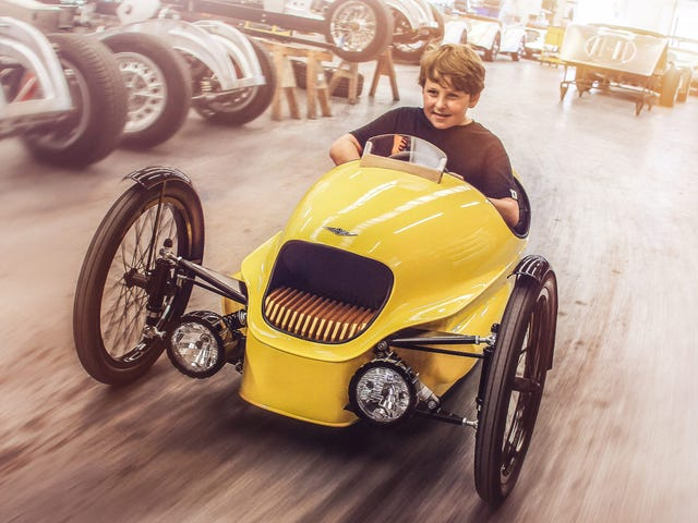 Buy This Tiny Morgan If You Love Your Kid More Than You Love $9,900