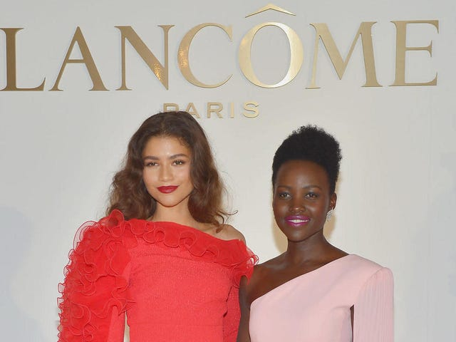 Double Vision: Lupita and Zendaya Are Stunning in a Joint Lancôme Ad