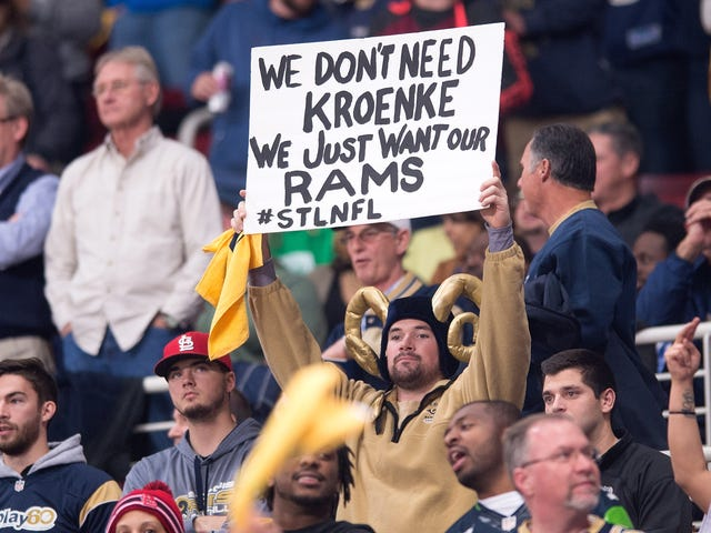 In Application To Move To Los Angeles,Rams Shit All Over City Of St. Louis