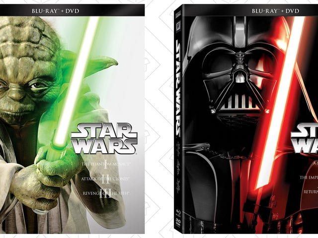 $20 Star Wars Trilogy Blu-rays? Search Your Feelings, You Know It To Be True.