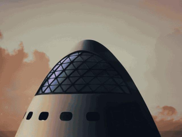 Este el el en elon Musk para colonizar Marte: fabricar el cohete más grande en la historia