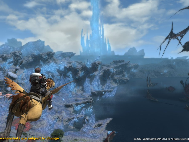 Square Enix is adding flying to Final Fantasy XIV's A Realm Reborn maps