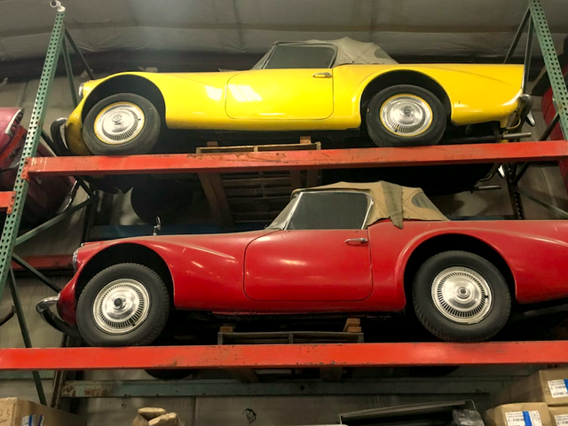 A Washington Man Found An Ultra-Rare Collection Of The Ugliest Sports Cars Ever Made