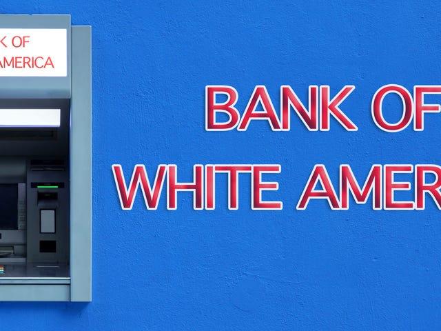 Twój bank jest białym supremacjonistą
