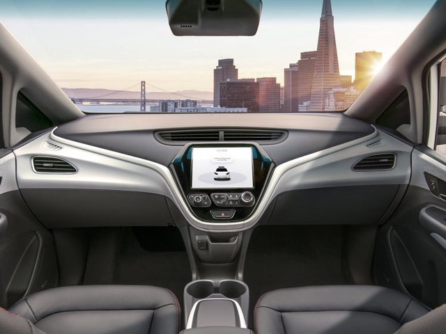 Here's The First Exclusive Image Of GM's Driverless Car Without A Steering Wheel (UPDATED)
