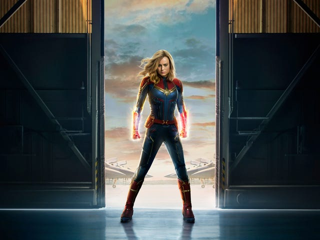 Captain Marvel Is Crash Landing Into Disney's California Adventure Park