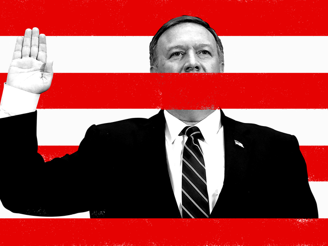 The CIA Says Mike Pompeo Didn't Fight in the Gulf War