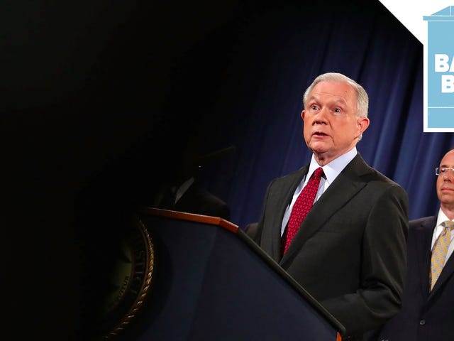 Jeff Sessions Announces Official Sanctuary City Crackdown