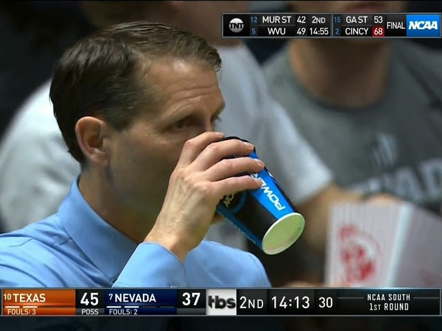 "Nevada's Eric Musselman On Personal Hydration And His Need To Pee: ""It's Been A Great Concern Of Mine"""
