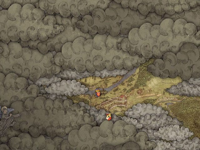 Let's Take A Nice Slow Walk Across Kingdom Come: Deliverance'sEntire Map