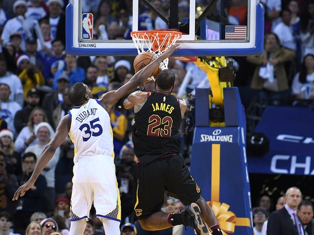NBA Admits Kevin Durant Fouled LeBron James Three Times In Final Two Minutes
