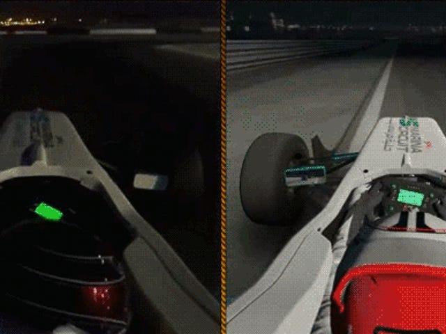 Racing Game VS Real Life, Γύρος Δύο