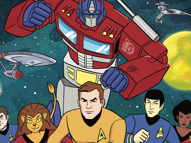 A New IDW Comic Is Mashing Up Star Trek and Transformers in the Most Glorious Way Possible