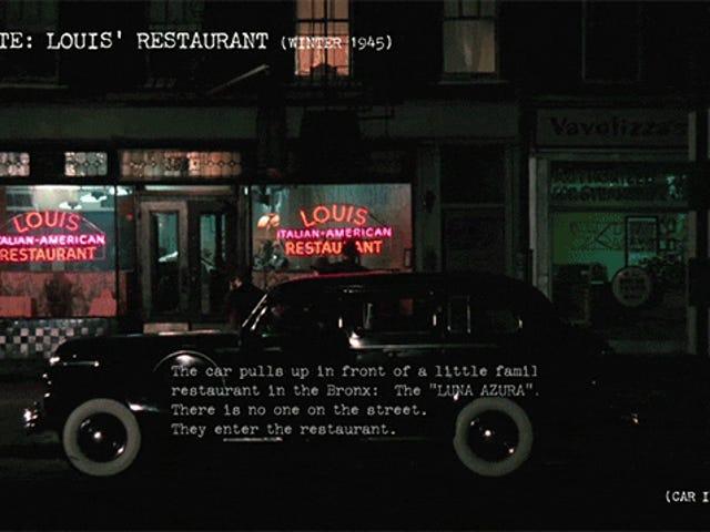 Hoe een van <i>The Godfather's</i> beste scènes van <i>The Godfather's</i> verhoudt tot wat in het script is geschreven