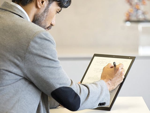 Save $100 On Sony's Digital Paper E-Ink Tablet