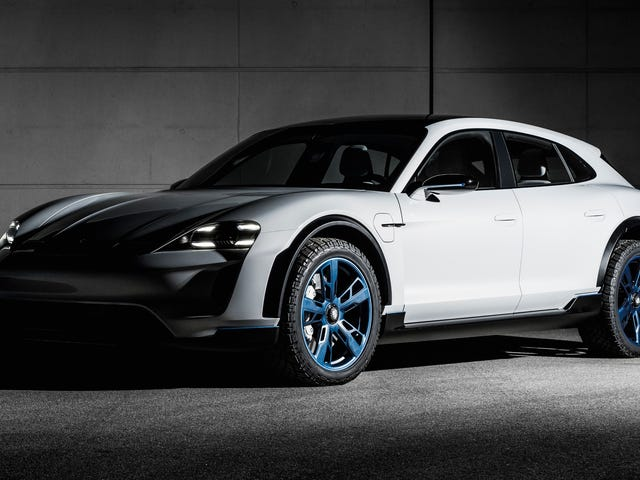 The Porsche Mission E Cross Turismo Could Have Been A Modern Dakar 959 But It's Just Awkward