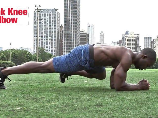 Bu Plank Varyasyonları ile Ab Egzersizinizi Değiştirin