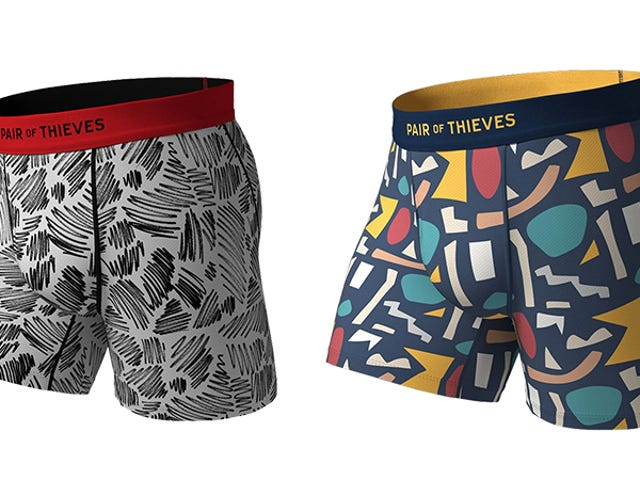 Work Out And Chill Out With Soft, Cooling Underwear From Pair of Thieves (20% Off)