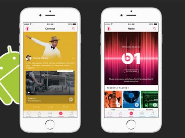 Apple Music para Android no tendrá funciones gratis, será 100% de pago
