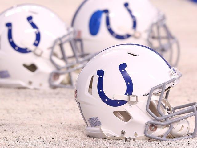 Verslag: Colts Assistant's Home Shot Tientallen keren door acht onbekende schutters