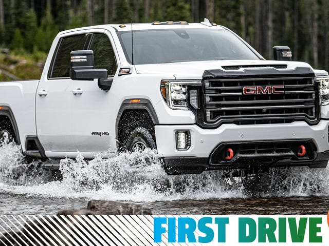 Le GMC Sierra HD 2020 est un cheval de bataille high-tech monstrueux