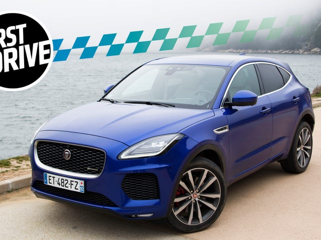 The 2018 Jaguar E-Pace Is Pretty But It's No Performance Car