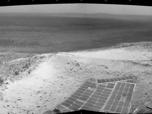Upaya NASA untuk Menghubungi Peluang Rover Rover sebagai Storm Debu Martial Clears