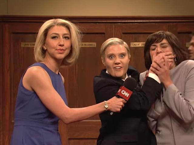 SNL takes us inside the GOP Kavanaugh locker room beer bash