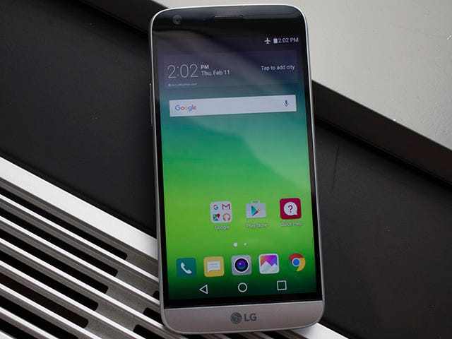 LG's G5 Is Like an All Metal Phone Prototype From The Future