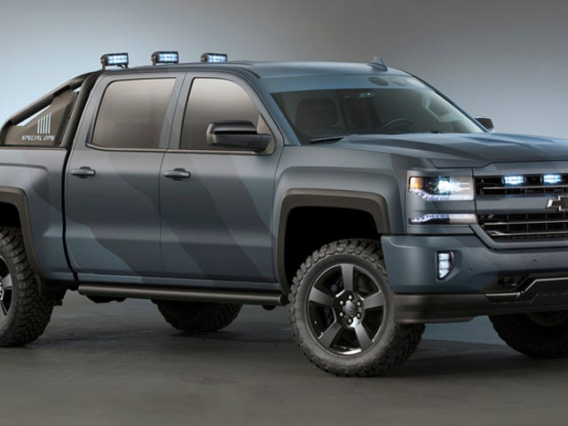 Chevy Is Really Making TheSpec Ops Silverado And It's A Great Idea