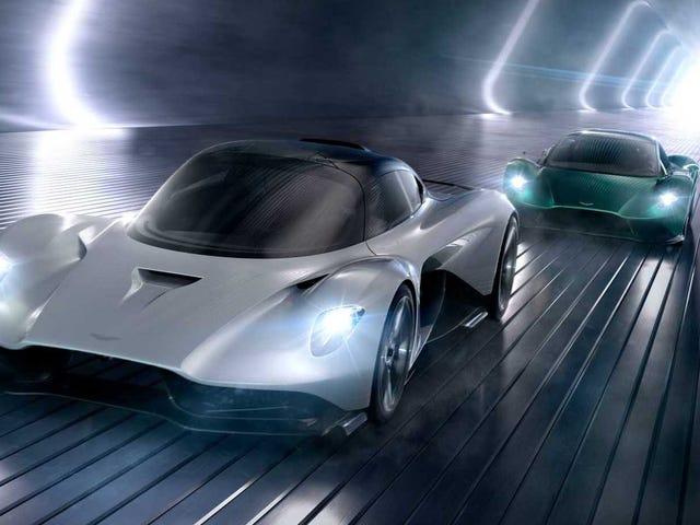 Aston Martin va direttamente dopo Ferrari e McLaren con due nuove macchine a motore centrale