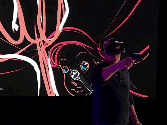 Watch a Legendary Disney Animator Draw Ariel From The Little Mermaid in Virtual Reality