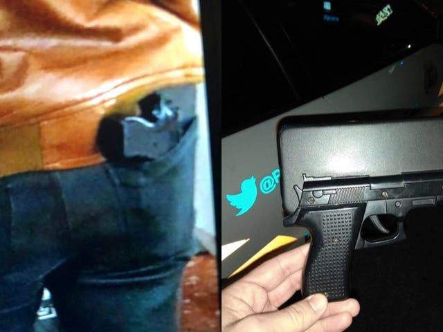 Un consejo de la policía: no vayas por la calle con esta funda de teléfono porque la cosa acabará mal