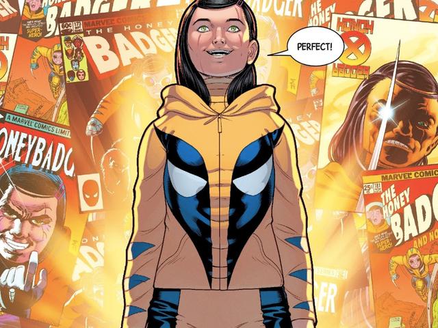 La plus jeune «fille» de Wolverine a juste un nom de code qui ferait son père fier