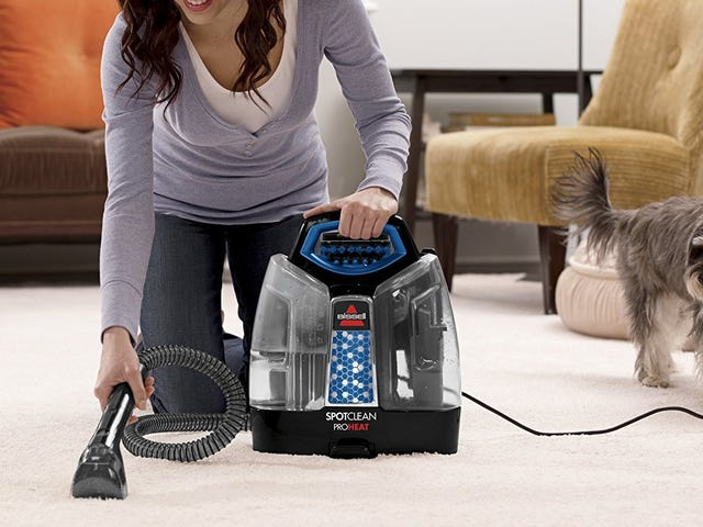 Get Stains Out of Your Carpets, Rugs, and Furniture With This Discounted Bissell SpotClean