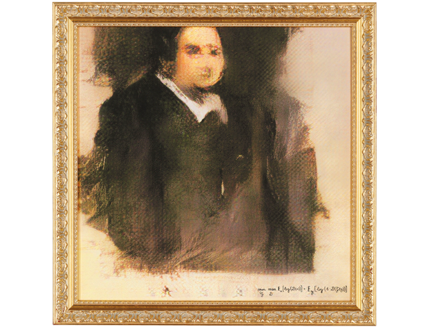 Portrait Painted by AI Sells For $432,500